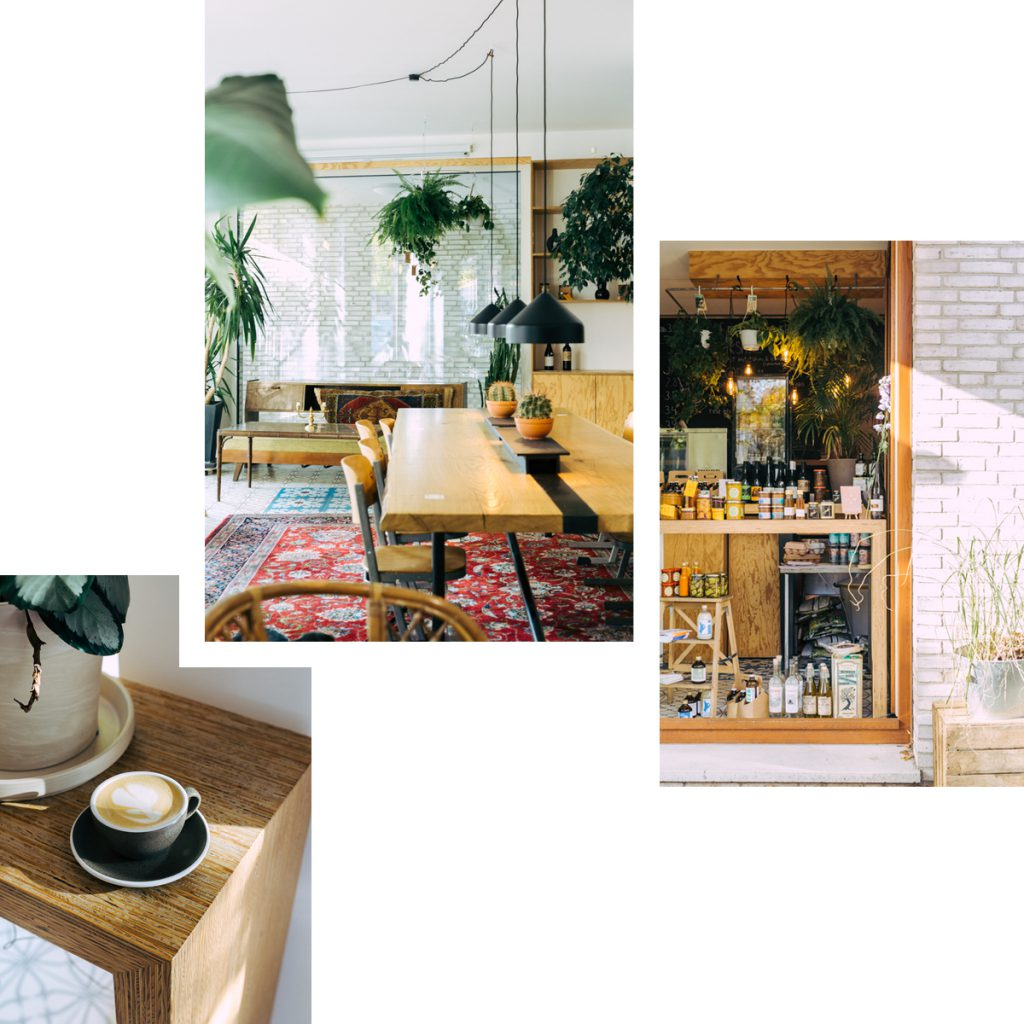 ERCHY'S: HOUSEPLANT SHOP MEETS DELI AND CAFE FOR COFFEE CULTURE WITH TURKISH FLAIR