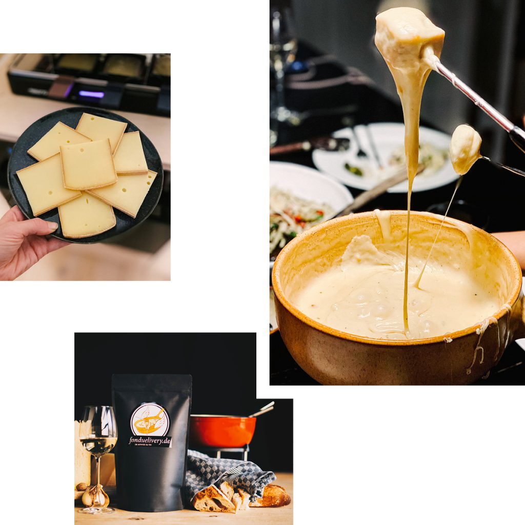 FONDUE AND RACLETTE FOR FESTIVE FEASTS — SWISS CHEESE MIXTURES DELIVERED TO YOUR DOOR BY FONDUELIVERY