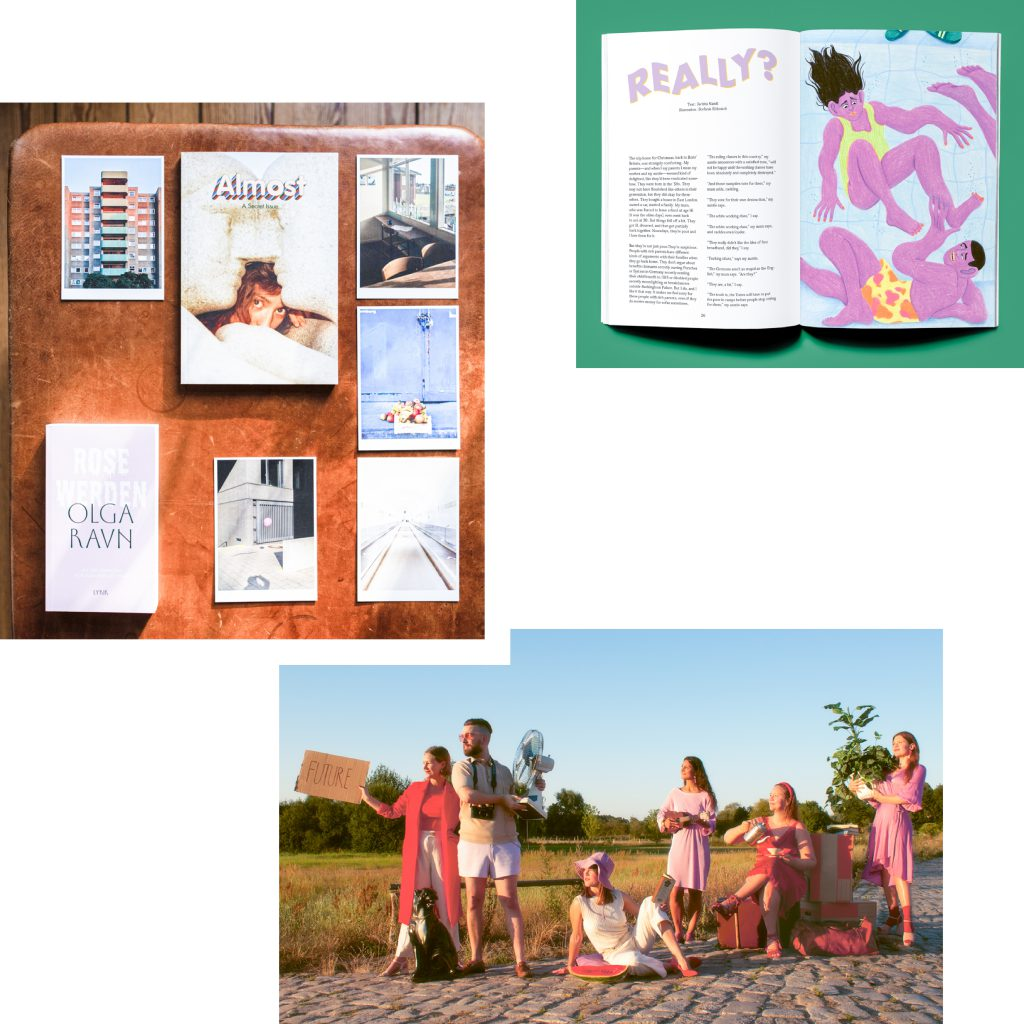 GIVE THE GIFT OF CULTURE AND SUPPORT INDIE PUBLISHERS: JULPAKET FROM ALMOST MAGAZINE FOR HOLIDAY READS