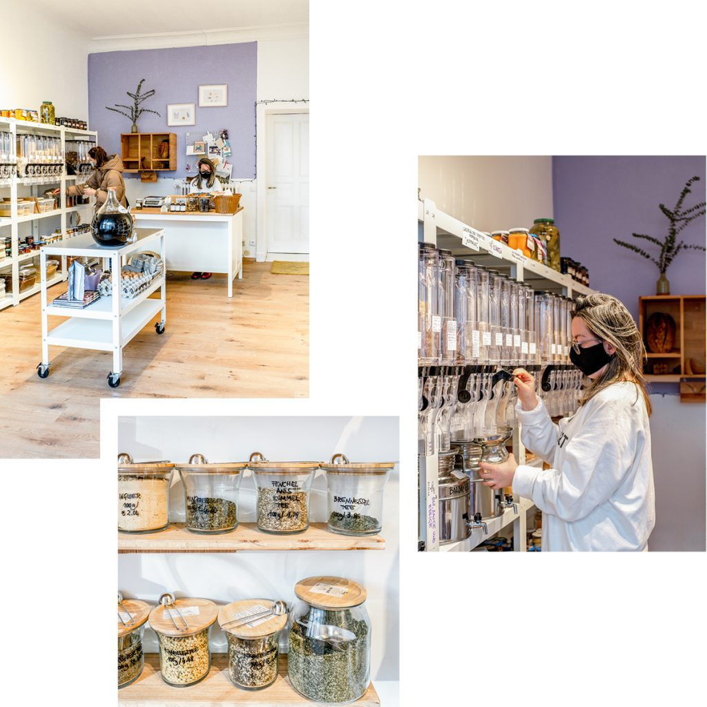 HERBIE UNVERPACKT: PLASTIC-FREE BOUTIQUE FOR FRESH GROCERIES AND PANTRY SUPPLIES BY THE LANDWEHRKANAL