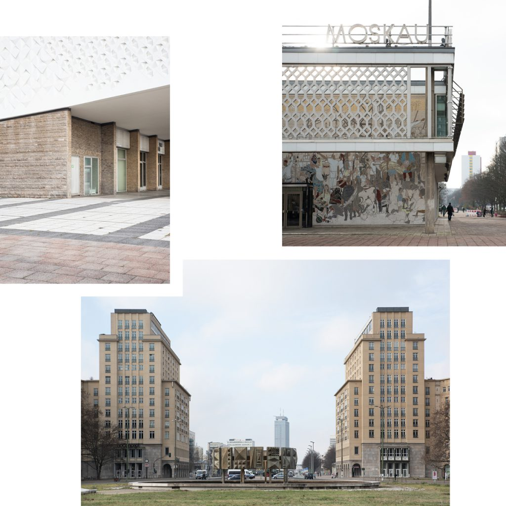 GUIDED AUDIO WALKS ON KARL-MARX-ALLEE: REDISCOVERING GDR ARCHITECTURE AND HISTORY