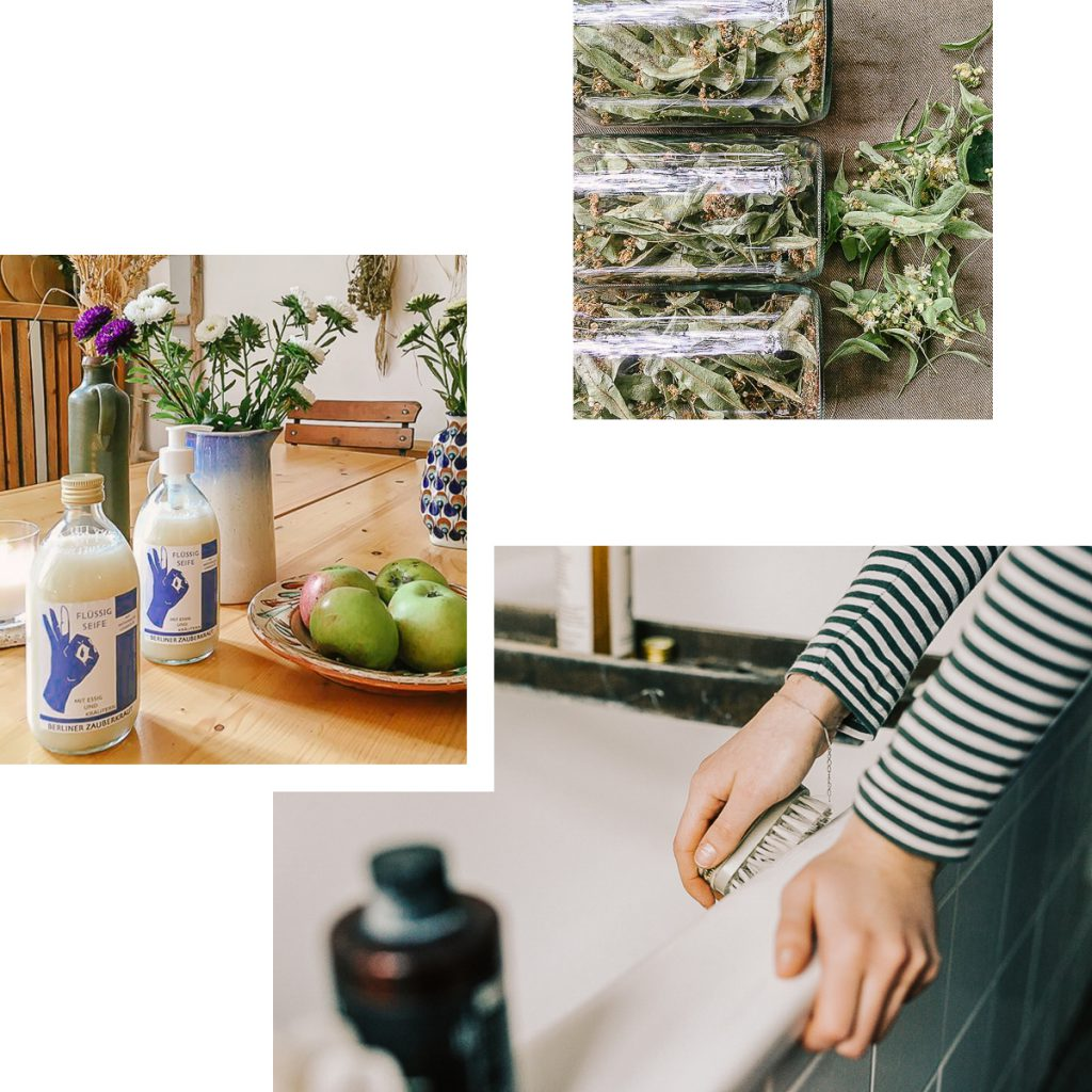 BERLINER ZAUBERKRAUT — SUSTAINABLE PLANT-BASED PRODUCTS FOR GREEN HOME CLEANING