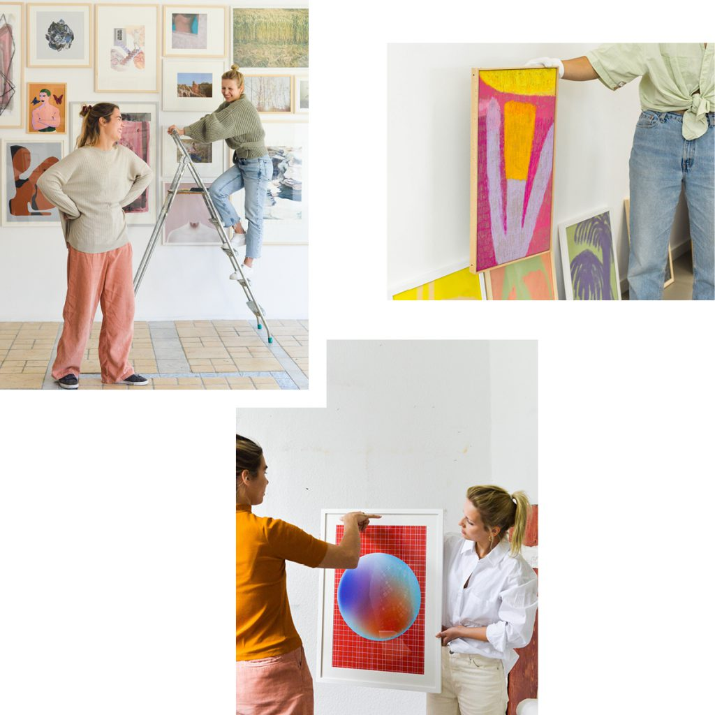 DISCOVERING ARTISTS AND THEIR WORKS AT KUNST100 — THE GALLERY, ONLINE SHOP AND ART CONSULTANCY ALL IN ONE