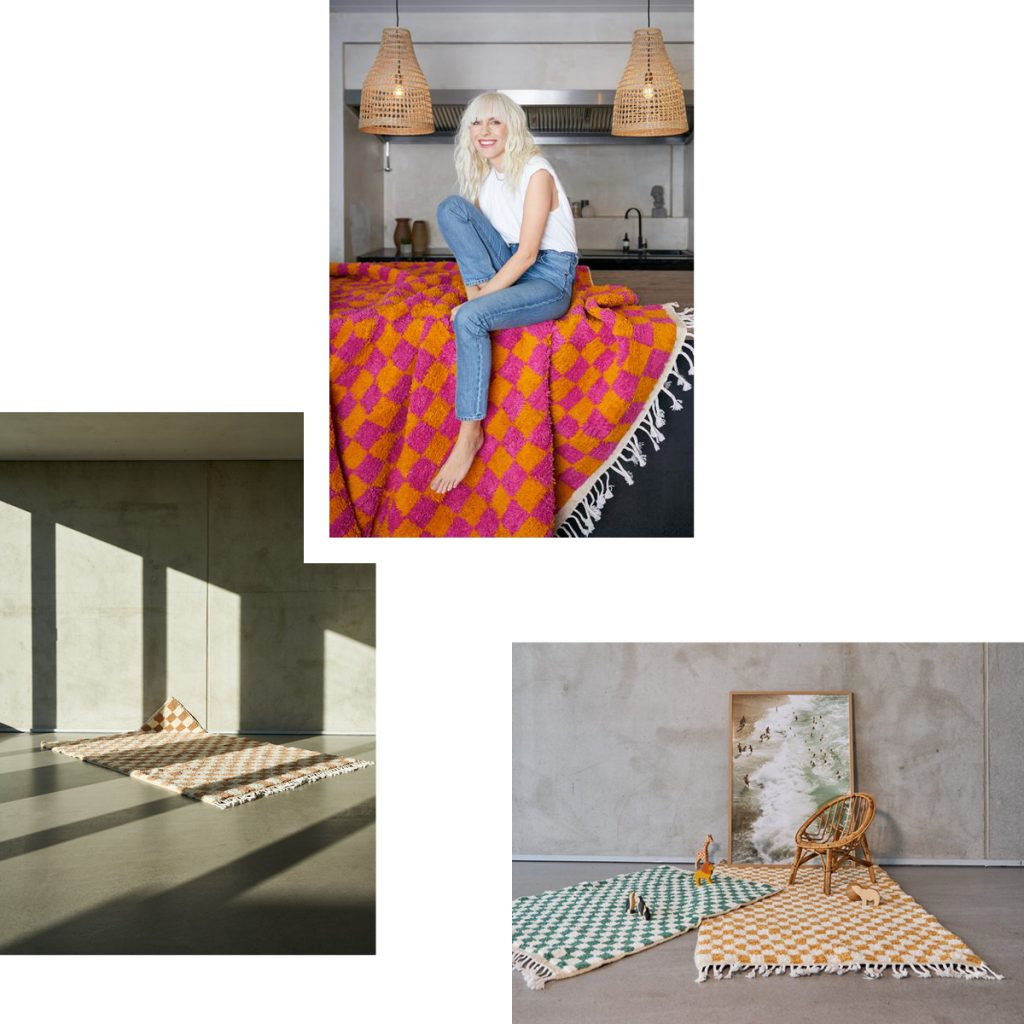 HAND IN HAND — SUSTAINABLE RUGS WITH CONTEMPORARY PATTERNS FROM CLOUDY ZAKROCKI