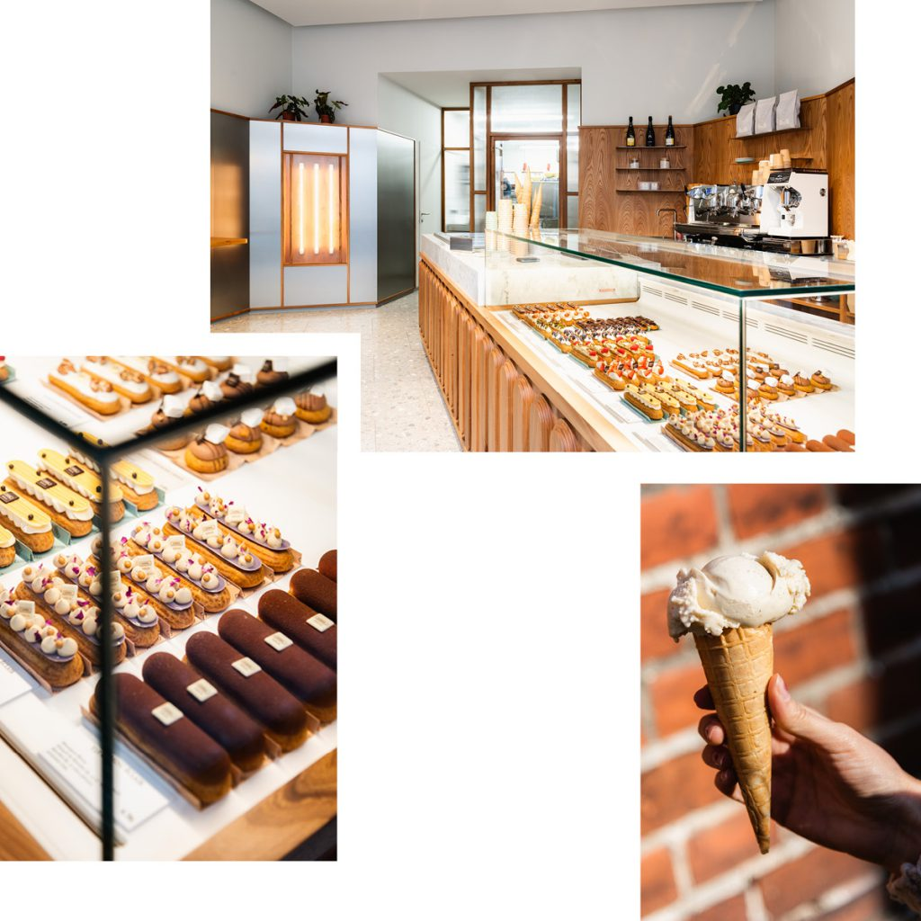 CANAL — HANDMADE ECLAIRS AND ITALIAN-STYLE GELATO NOW ALSO ON LINIENSTRASSE