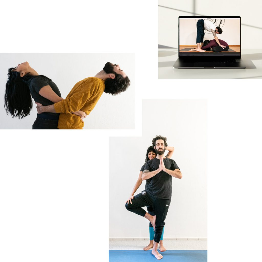PARTNER YOGA FROM SOUL Y LUNA — RECONNECTING THROUGH (ONLINE) GUIDED MOVEMENT AND TOUCH