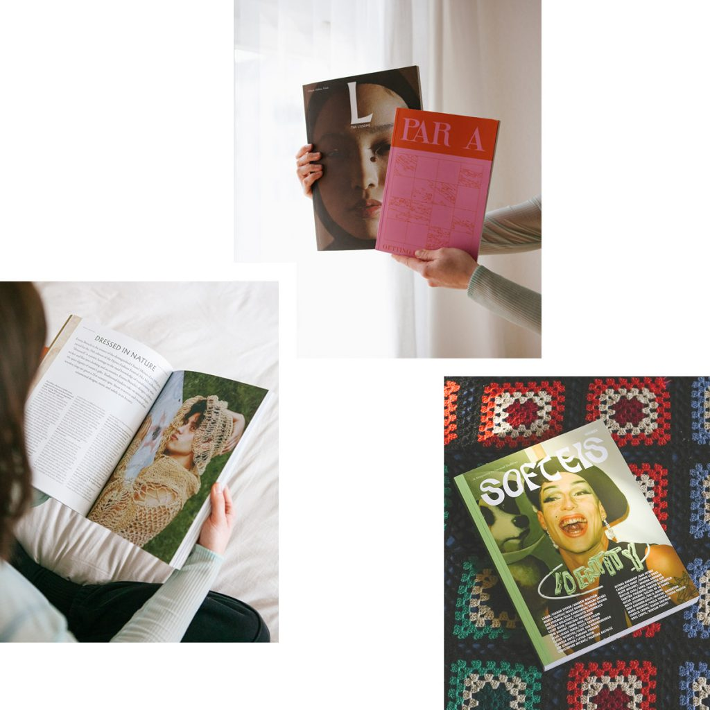 THE LISSOME, PARA & SOFT EIS — THREE INDIE ZINES EXPLORING SUSTAINABILITY AND IDENTITY