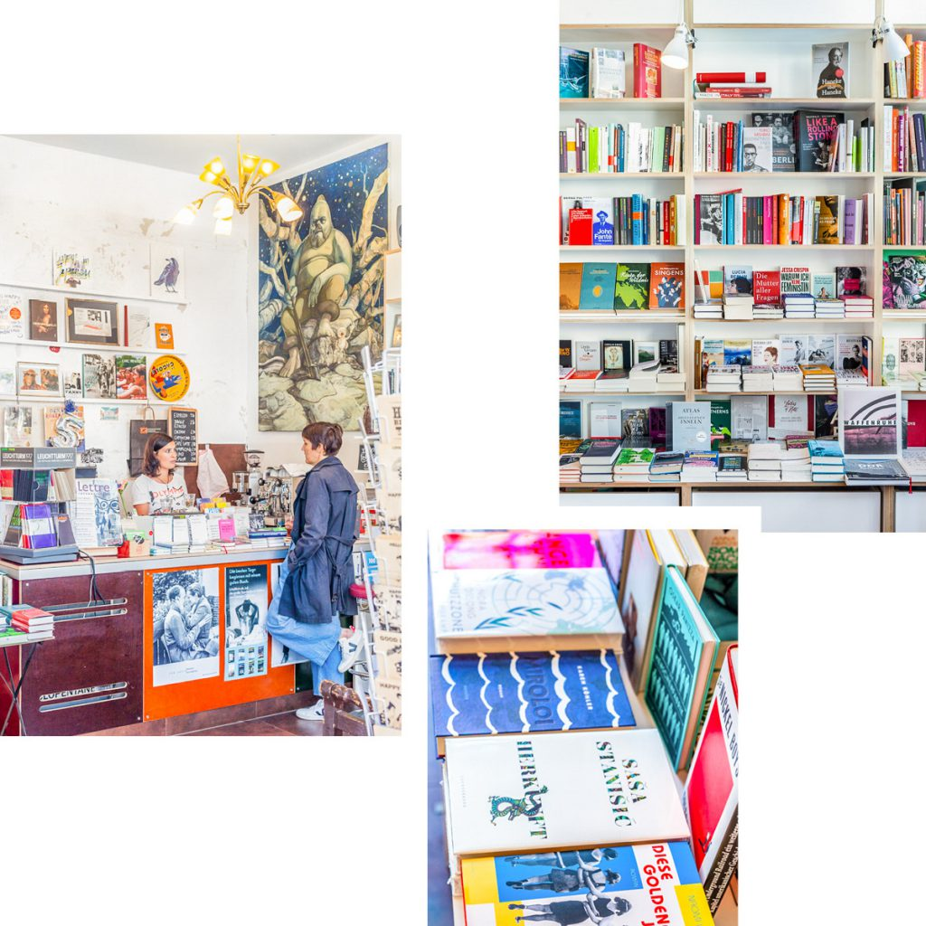 BUCHHANDLUNG MONTAG — LITTLE BOOKSHOP FOR HANDPICKED CONTEMPORARY READS