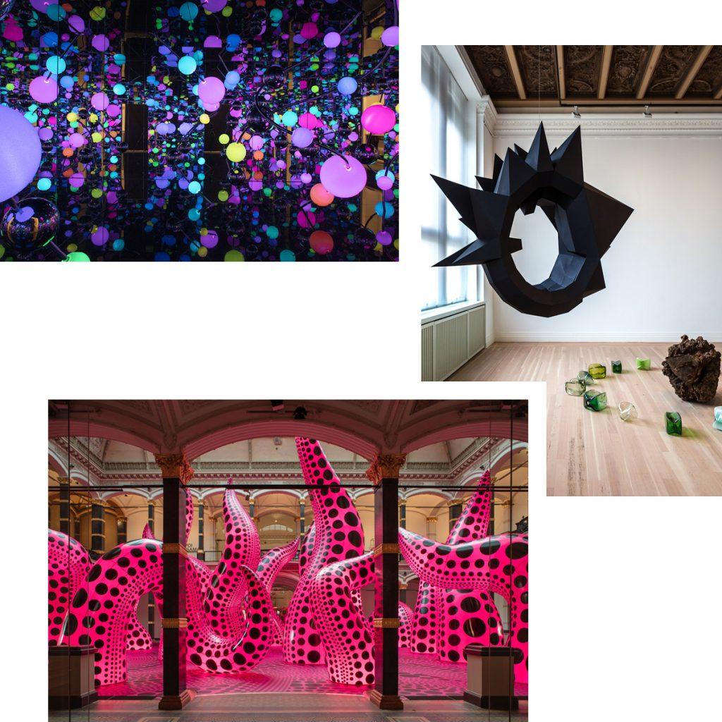 YAYOI KUSAMA & HELLA JONGERIUS — IMMERSIVE ART AND INTERACTIVE DESIGN AT GROPIUS BAU