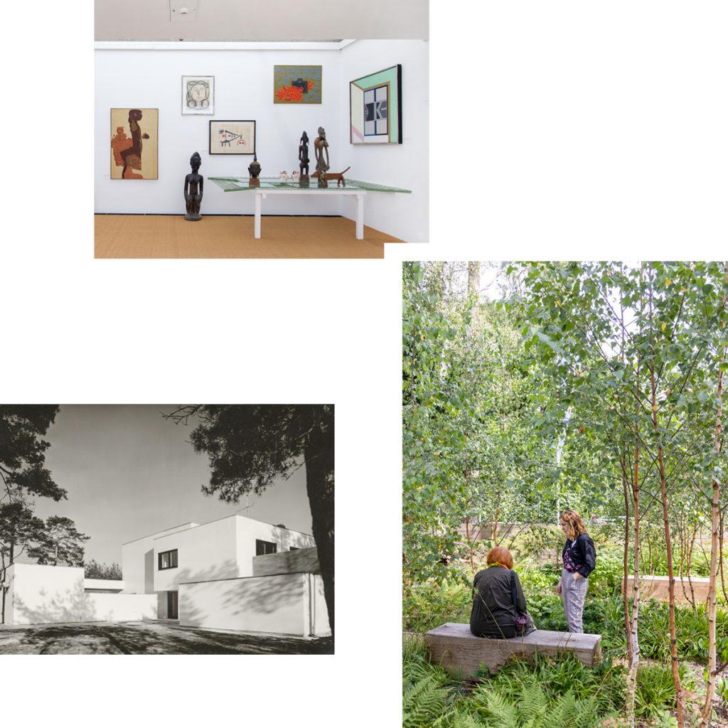 ALIVE WITH ARCHITECTURE — SUMMER GARDEN PARTY AND WERNER DÜTTMANN EXHIBITION AT THE BRÜCKE-MUSEUM
