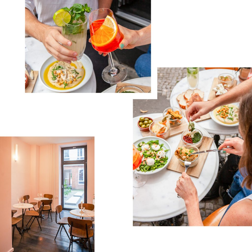 MIDDLE — ALL-DAY BISTRO FOR MORNING COFFEE, LEVANTINE LUNCH AND EVENING DRINKS AND TAPAS