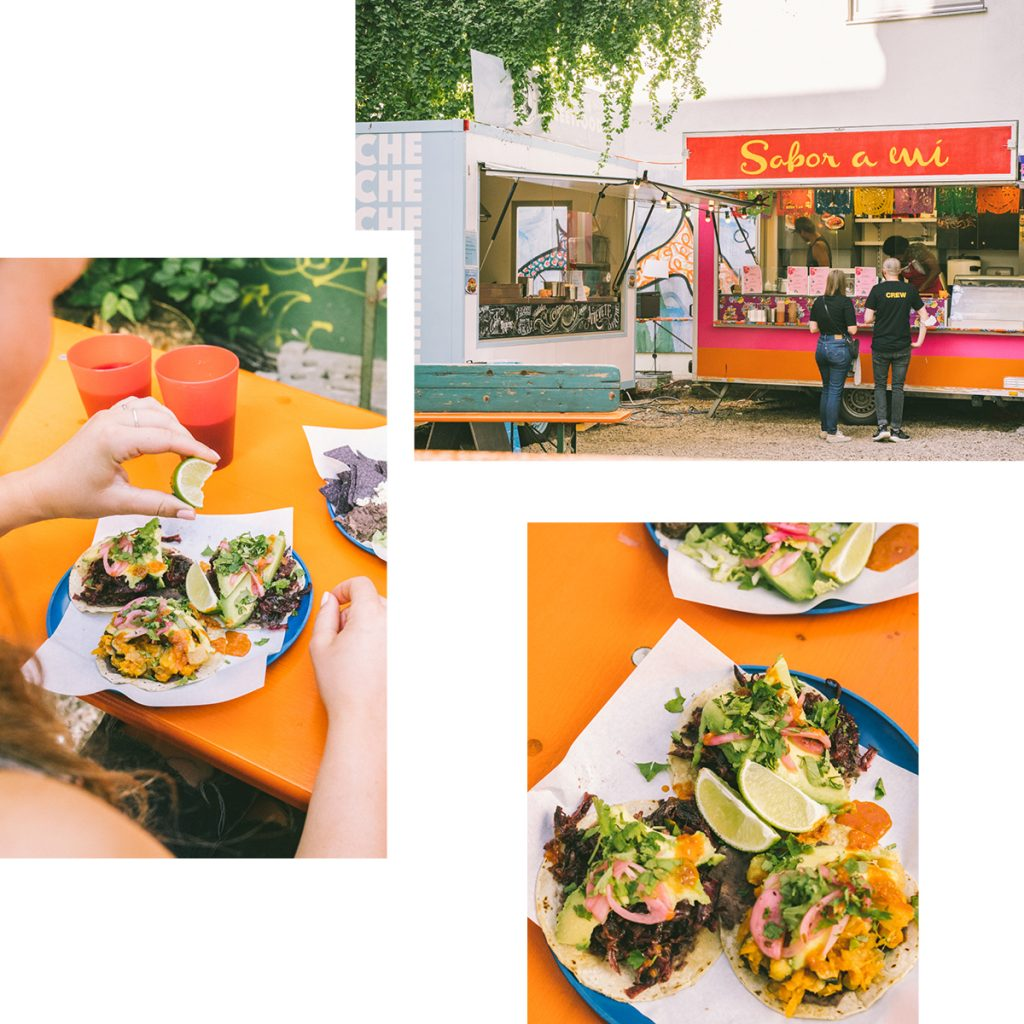 A PIECE OF MEXICO IN MITTE — TACOS FROM THE SABOR A MÍ FOOD TRUCK