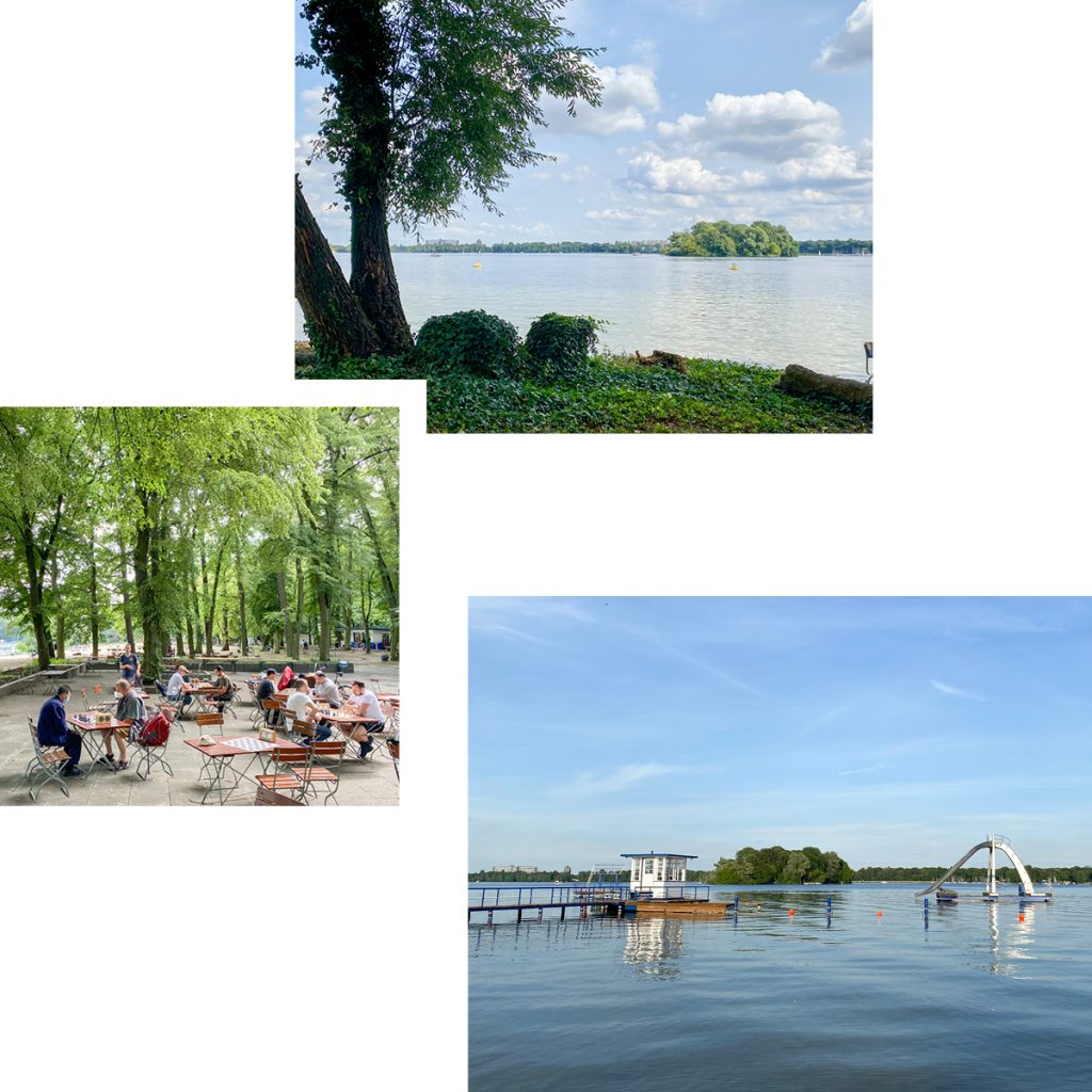 LAST OF THE SUMMER SUN — SAND, SWIMMING AND CULTURE AT STRANDBAD TEGELSEE