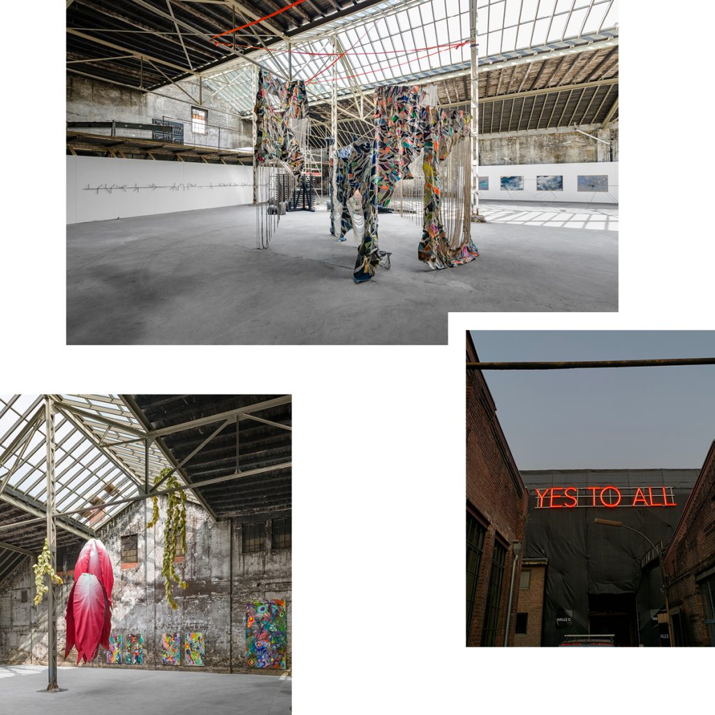 YES TO ALL! DISCOVER THE WILHELM HALLEN AT BERLIN ART WEEK