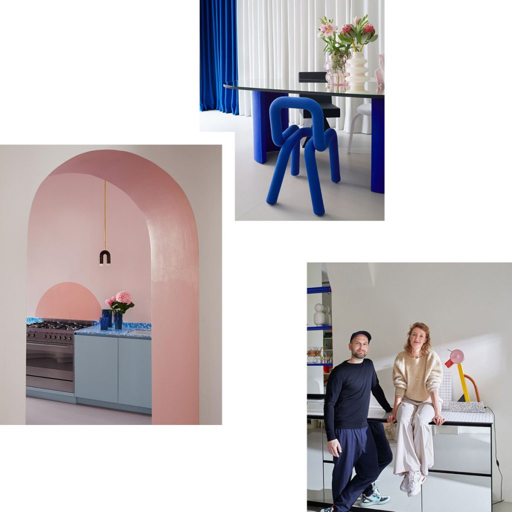 CELEBRATING GEOMETRY IN FURNITURE — COLORFUL OBJECTS AND INTERIOR CONCEPTS BY JÄLL & TOFTA