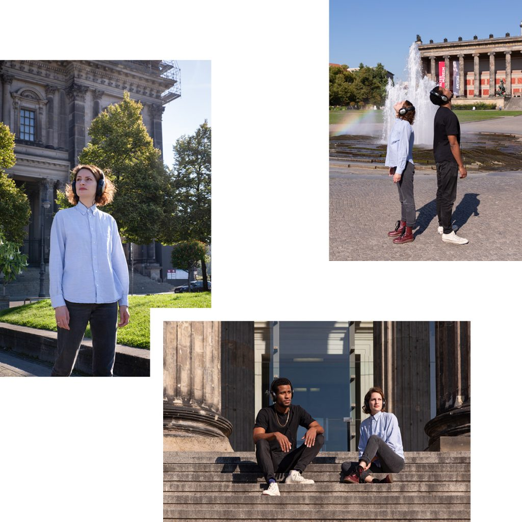 ADVENTURES AMIDST PALACES, CATHEDRALS AND THE MUSEUM ISLAND LUSTGARTEN — AN AUDIOWALK FROM RAUM+ZEIT